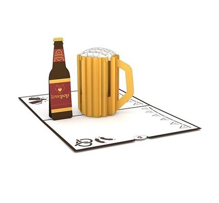 Lovepop Beer Classic 3D Card