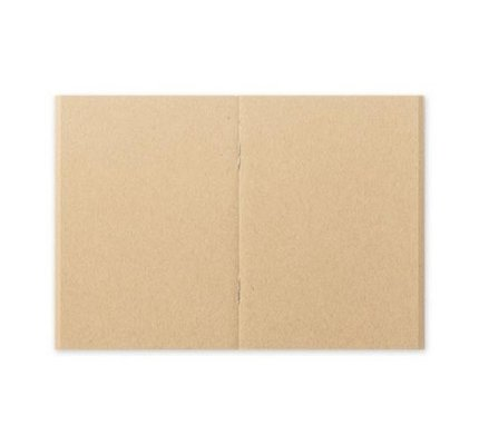 Traveler's Traveler's Notebook #009 Passport Size Refill Kraft Paper 5/PK