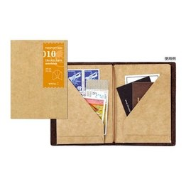 Traveler's Traveler's Notebook #010 Passport Size Kraft File