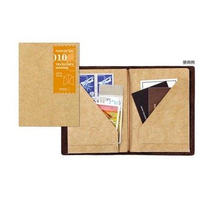 Traveler's Notebook #010 Passport Size Kraft File