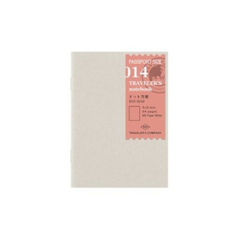 Traveler's Traveler's Notebook #014 Passport Refill Dot Grid