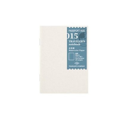 Traveler's Traveler's Notebook #015 Passport Refill Watercolor Paper