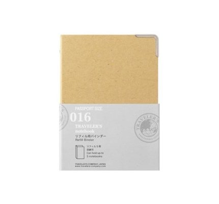 Traveler's Traveler's Notebook #016 Passport Binder for Refills