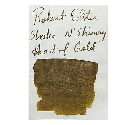 Robert Oster Shake & Shimmer Heart of Gold - 50ml Bottled Ink