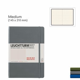 Leuchtturm1917 Leuchtturm1917 Special Edition Red Dots Medium