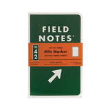 Field Notes Mile Marker 3 Pack Notebook