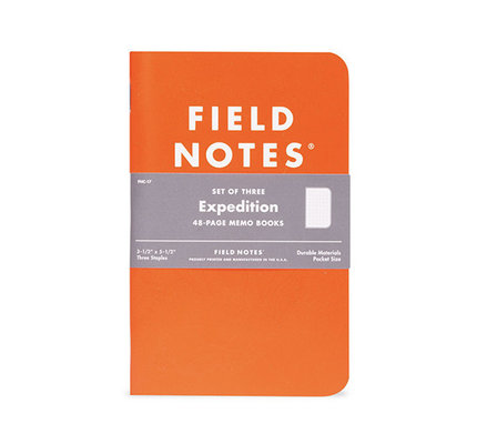 Field Notes Field Notes Limited Edition Expedition 2012 Dot Grid 3-Pack