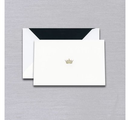 Vera Wang Vera Wang Black Crown Engraved Note