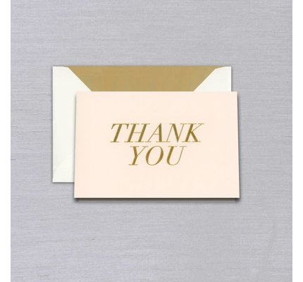 Vera Wang Vera Wang Blush Thank You Note