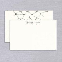 Vera Wang Vera Wang Engraved Dragonfly Wings Thank You Card