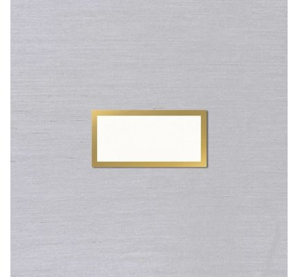 Vera Wang Gold Bordered Place Card