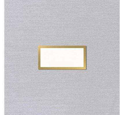 Vera Wang Vera Wang Gold Bordered Place Card