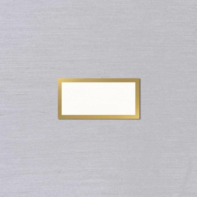 Vera Wang Gold Bordered Place Card