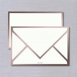 Vera Wang Vera Wang Rose Gold Bordered Card (Discontinued)