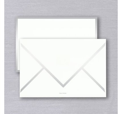 Vera Wang Vera Wang Silver Foil Bordered Card (Discontinued)