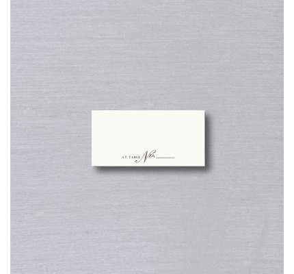 Vera Wang Vera Wang Table No. Place Card