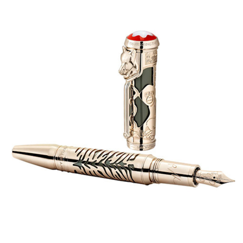 "Montblanc Montblanc Writers Edition Homage to Rudyard Kipling Tribute to ""IF"" Fountain Pen Limited Edition 1895"