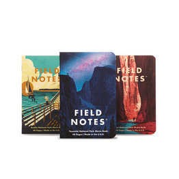Field Notes National Parks Series A Yosemite, Acadia, Zion Notebooks