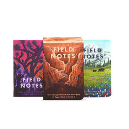 Field Notes National Parks Series B Grand Canyon, Joshua Tree, Mt. Rainier Notebooks