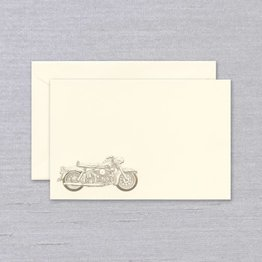 Crane Crane Ecru Motorcycle Card