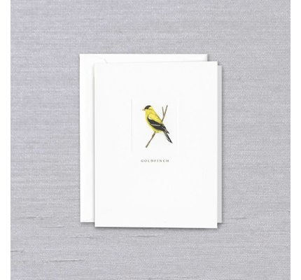Crane Crane Pearl White Goldfinch Note