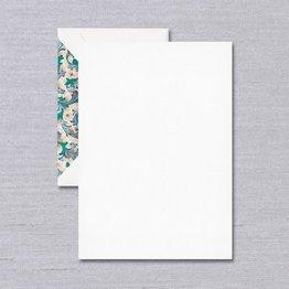 Crane Crane Blue Florentine Pearl White Half Sheet