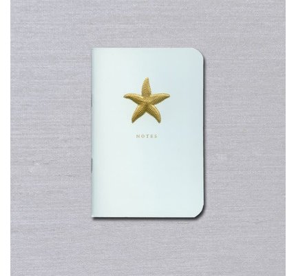 Crane Crane Beach Glass Starfish Notebook