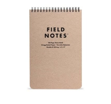 Field Notes Field Notes Steno Pad 6 x 9 Lined