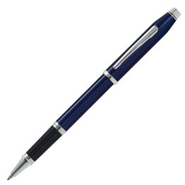 Cross Cross Century II Selectip Translucent Blue Lacquer/Rhodium Plate Rollerball