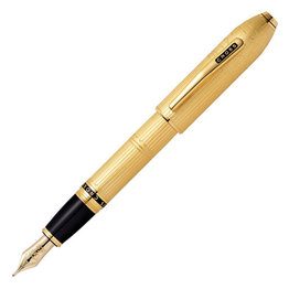 A. T. Cross Cross Peerless Special-Edition London 23KT Gold Plate Fountain Pen