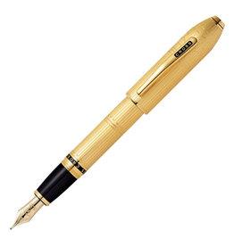 A. T. Cross Cross Peerless Special-Edition London 23KT Gold Plate Fountain Pen