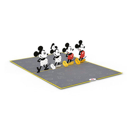 Lovepop Disney's Mickey Through the Years 3D Card