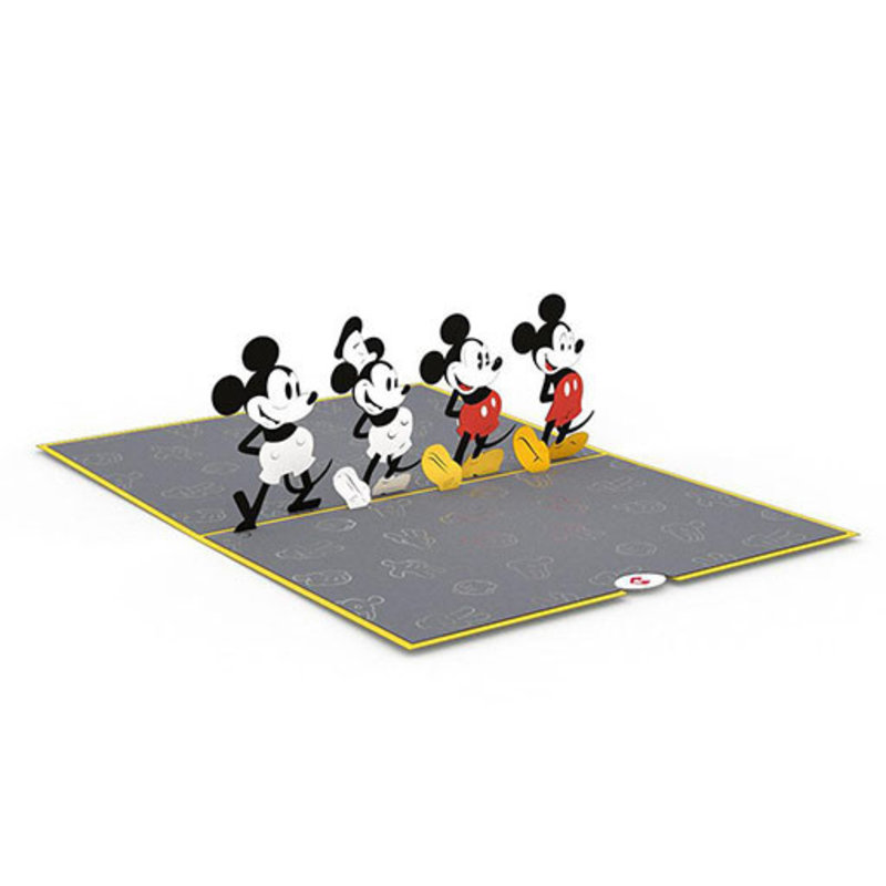 Lovepop Disney's Mickey Through the Years 3D Card