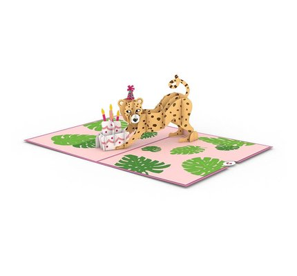 Lovepop Lovepop Wild Birthday 3D Card