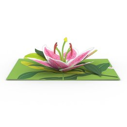 Lovepop Lily Bloom 3D Card