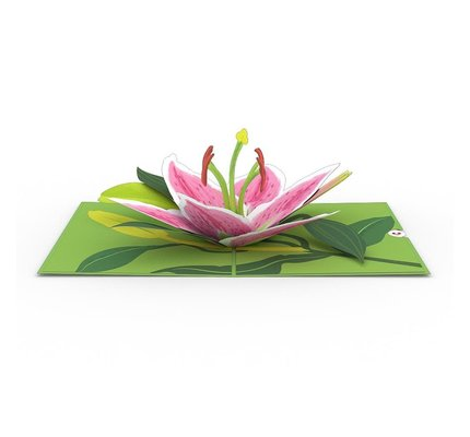 Lovepop Lovepop Lily Bloom 3D Card