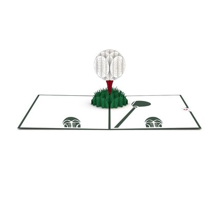 Lovepop Golf Ball 3D Card