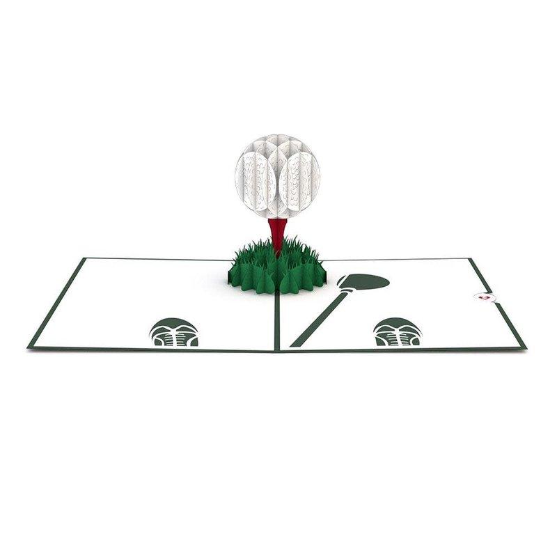 Lovepop Golf Ball 3D Card