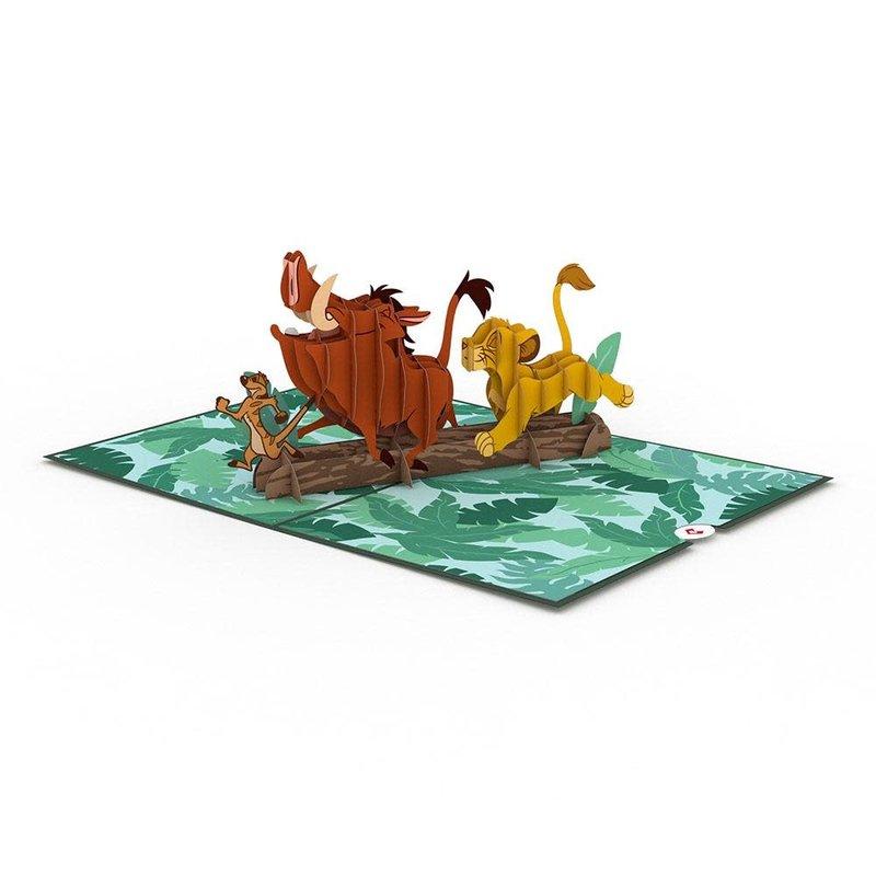 Lovepop Disney's The Lion Kings No Worries 3D Card