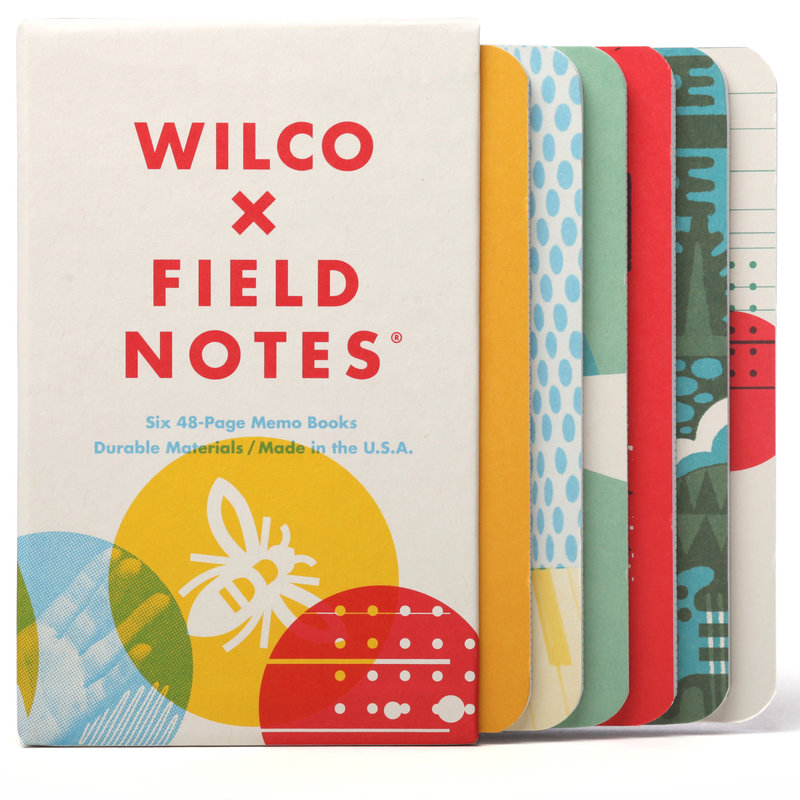 Field Notes Field Notes Wilco Box Set - 6 Journals