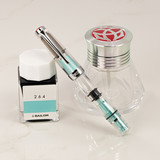 Twsbi Twsbi Diamond Mini AL Mint Blue Fountain Pen
