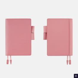 Hobonichi Hobonichi A6 Techo 2020 Agenda Leather: Sweet Pink