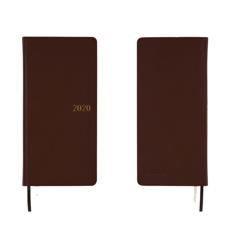 Hobonichi Hobonichi Weeks 2020 Leather: Antique Brown