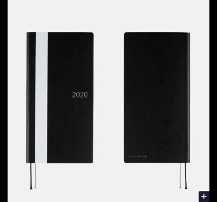 Hobonichi Hobonichi Weeks 2020 White Line: Black