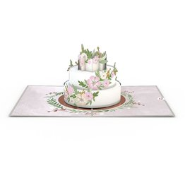 Lovepop Wedding Cake 3D Card