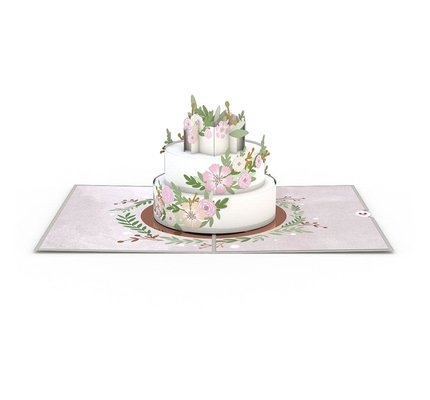 Lovepop Lovepop Wedding Cake 3D Card