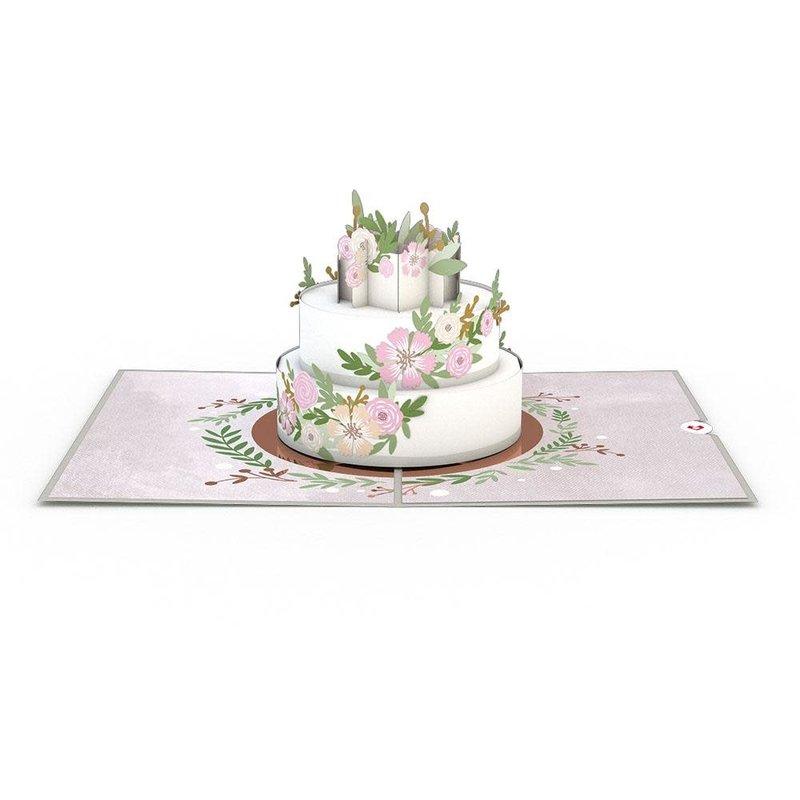 Lovepop Wedding Cake 3D Card