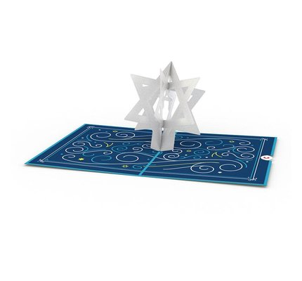 Lovepop Bar Mitzvah 3D Card