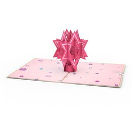Lovepop Bat Mitzvah 3D Card
