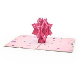 Lovepop Bat Mitzvah 3D Card